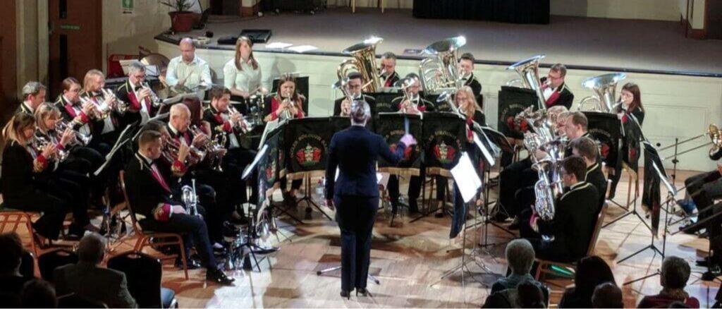 Eccles Borough band