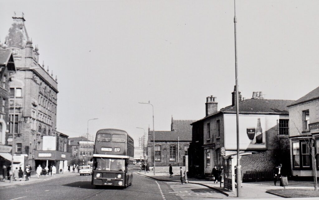 Pic of Eccles bus 289 1969