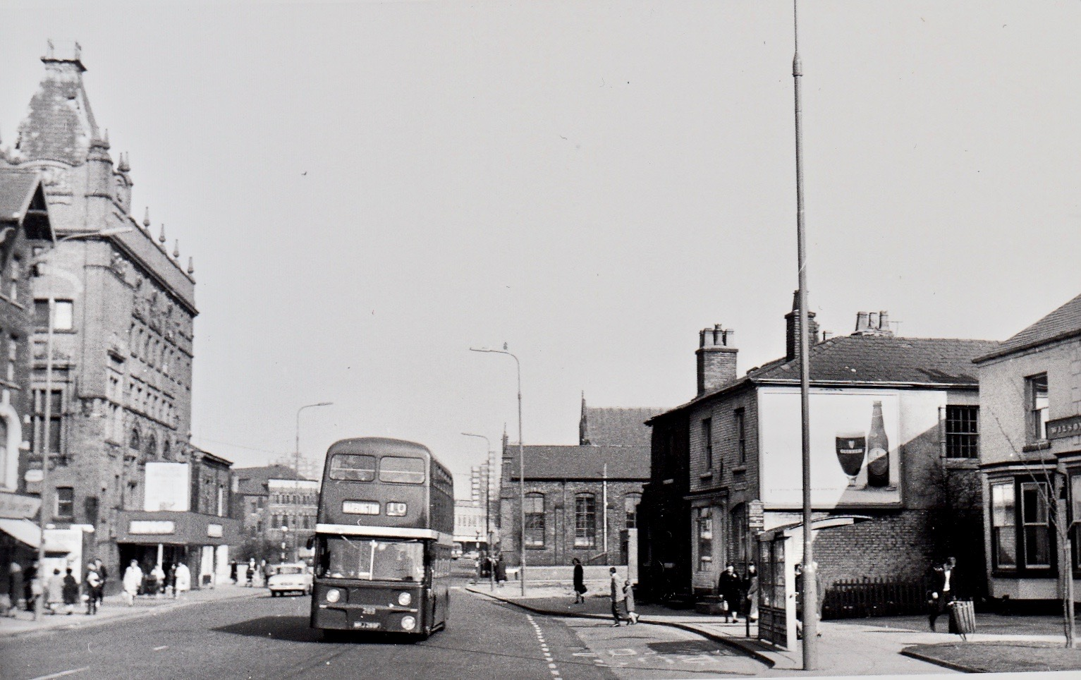 pic of bus no E289 at Eccles on 5th April 1969