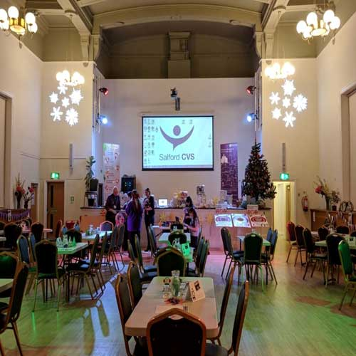 Salford CVS event