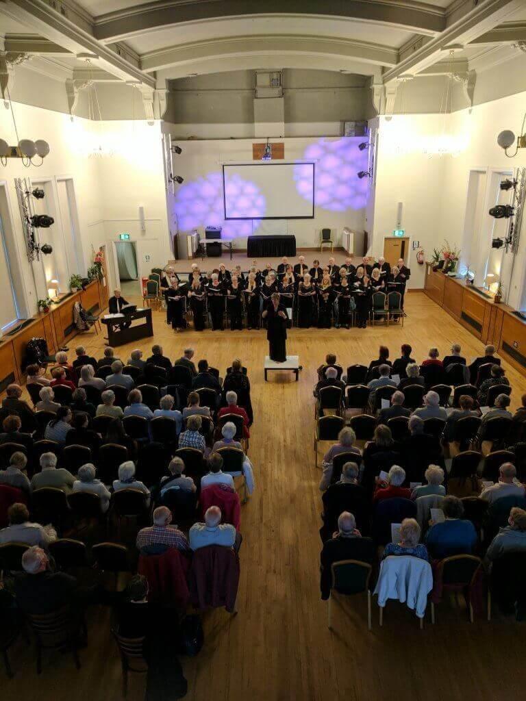 photo of Eccles Community Choir