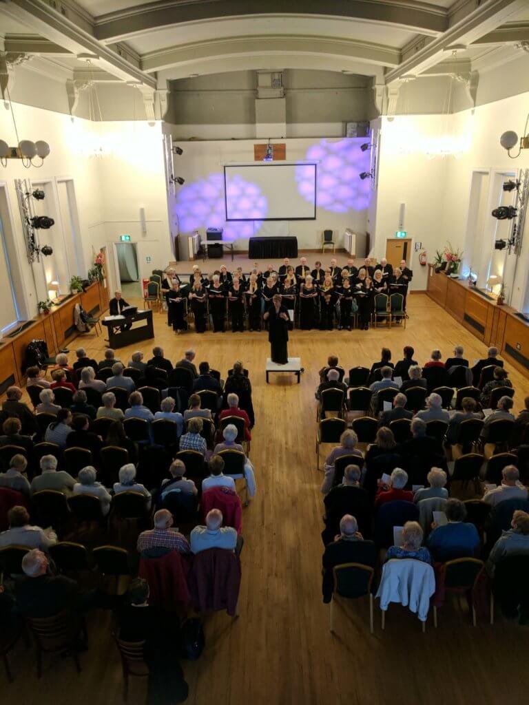 Eccles Community choir concert