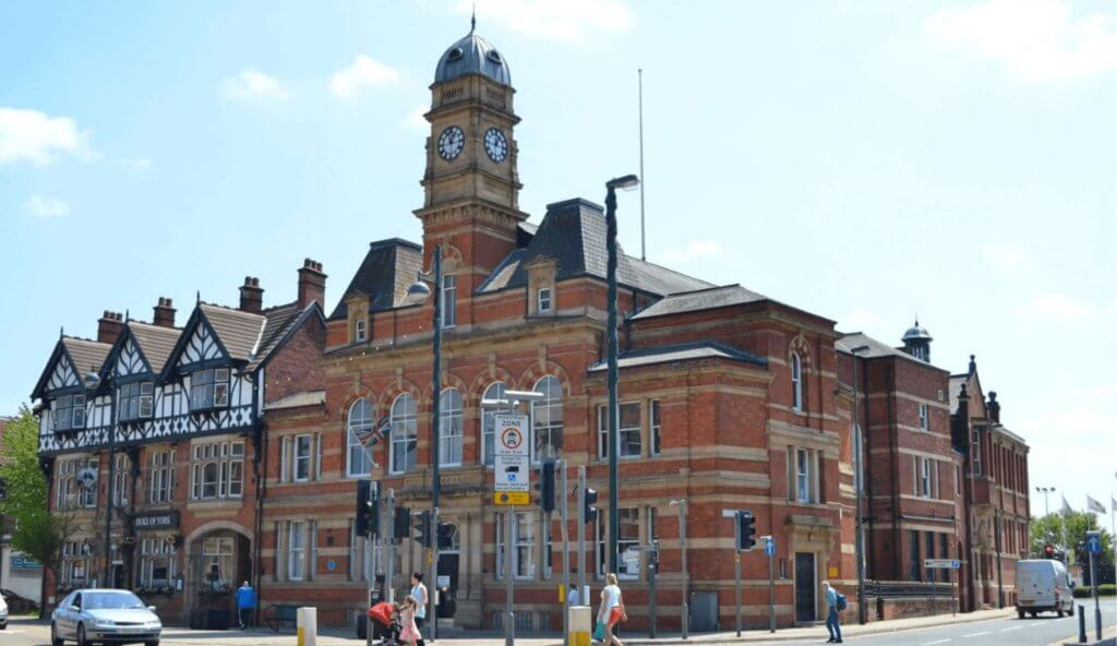 Eccles Town Hall